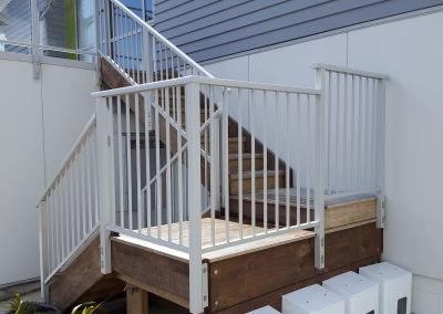 Balustrade with top Handrail