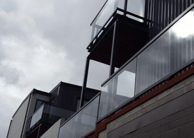 Big Glass Panels Balustrades - Firemans Arms Petone