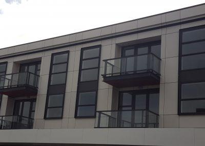 Big Glass Panels and Balustrade - Firemans Arms Petone