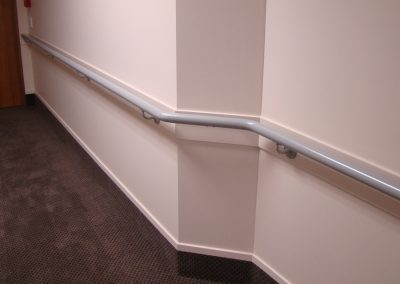 Continuous Handrails and Buffer Rails - Village at the Park Lifecare