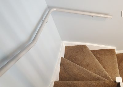 Continuous Handrails with compound bends