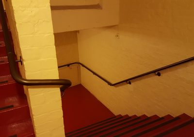 Continuous Handrails with compound bends - Opera House