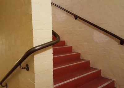 Continuous Powder Coated Aluminium Handrails - Opera House