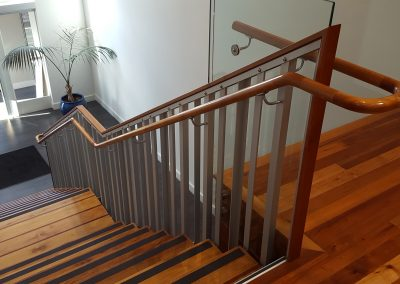 Continuous Timber Handrail