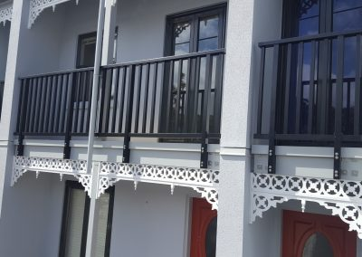 Extreme Colonial style Balustrade - Nairn Street Apartments