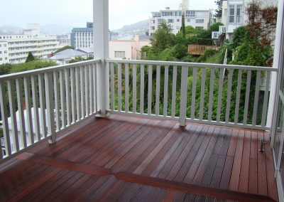Extreme Colonial style Custom Designed Balustrade - The Terrace