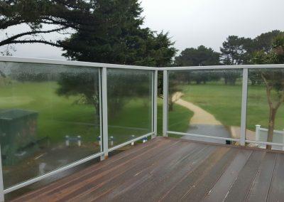 Extreme Glazed Balustrade - Shandon Golf Club Petone