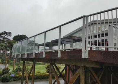 Extreme Glazed and Modern Balustrades - Shandon Golf Club Petone