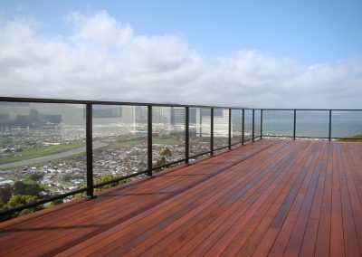 Framed Decor Glazed Balustrade frames the view with strength and safety