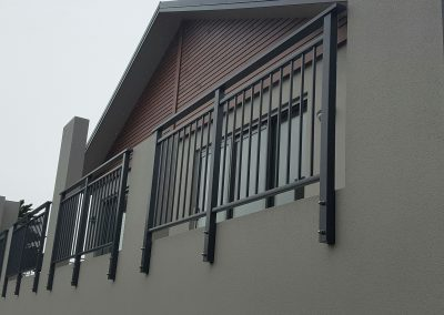 Framed Duo Balustrade with midrail, handrail and Balusters