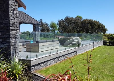 Glass Vice Pool Fence and Gates