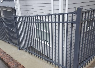 Modular sloped Fence Panels