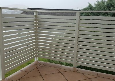 Safa Slat Screen for privacy and protection on elevated deck
