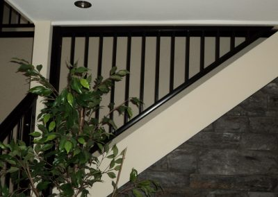 Shaped Baluster panel for safety and style