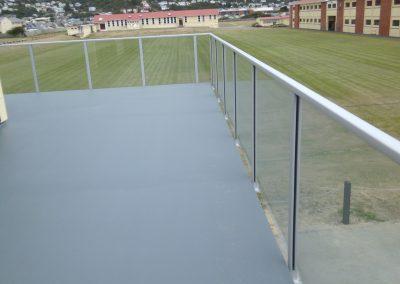Spectra Glazed Balustrade - Rongotai College Gymnasium