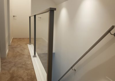 Spectra Glazed Balustrade and matching Handrails