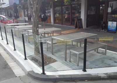 Vetro Glazed Semi Frameless Balustrade - The Borough Tawa