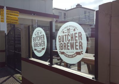 Vetro Windage Screens -The Butcher and Brewer Petone