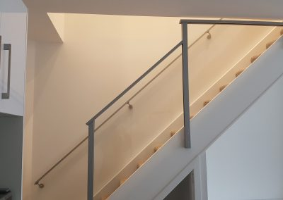 Light and airy Semi-Frameless Glazed -Balustrade