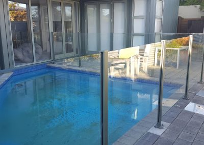 Semi-Frameless Glazed Pool Fence
