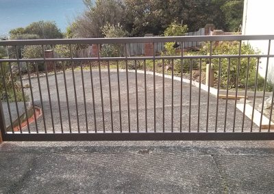 Wide span single swing Vehicle Gate