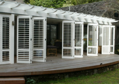 Bifolding Shutters for flexible living areas