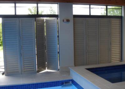 Enjoy indoor outdoor flow with Bifold Shutters