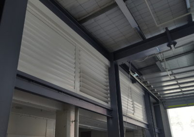 Powder Coated Aluminum Opening Louvres and Metal Shutters