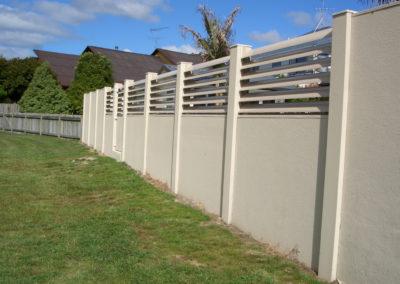 Safa Slat boundary fence