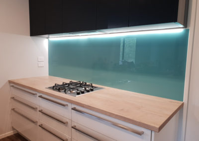 Made to measure glass kitchen Splashback